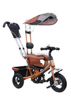 convenient kid bicycle/tricycle/stroller bike 4-in1 HLF-5388 with sunshade Practical product
