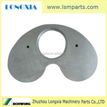 Schwing concrete pump spare part, kidney plate