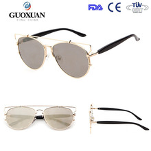 2015 newest good mirror lense sunglasses with various color change
