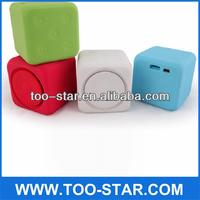 The High-quality Dice Shape Mini Speakers Big Sound