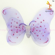 Wholesale Pink Carnival Nylon Wings Made In Angel Wings Audit Factory