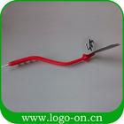 3d pvc macio caneta esferográfica flexível