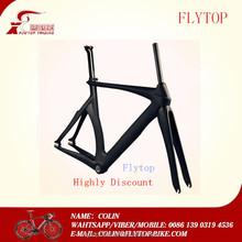 Discount! FLYTOP high quality carbon frame T700 carbon fiber bike frame