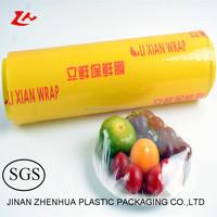 10 micron pvc cling film Lixian brand