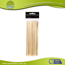 2015 Nature unsharpened bamboo stick easy holding bamboo stick