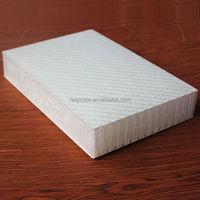 light weight plastic fiberglass polypropylene honeycomb sandwich panel HolyPan/Monopan