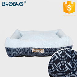 premium product strawberry elevated dog bed