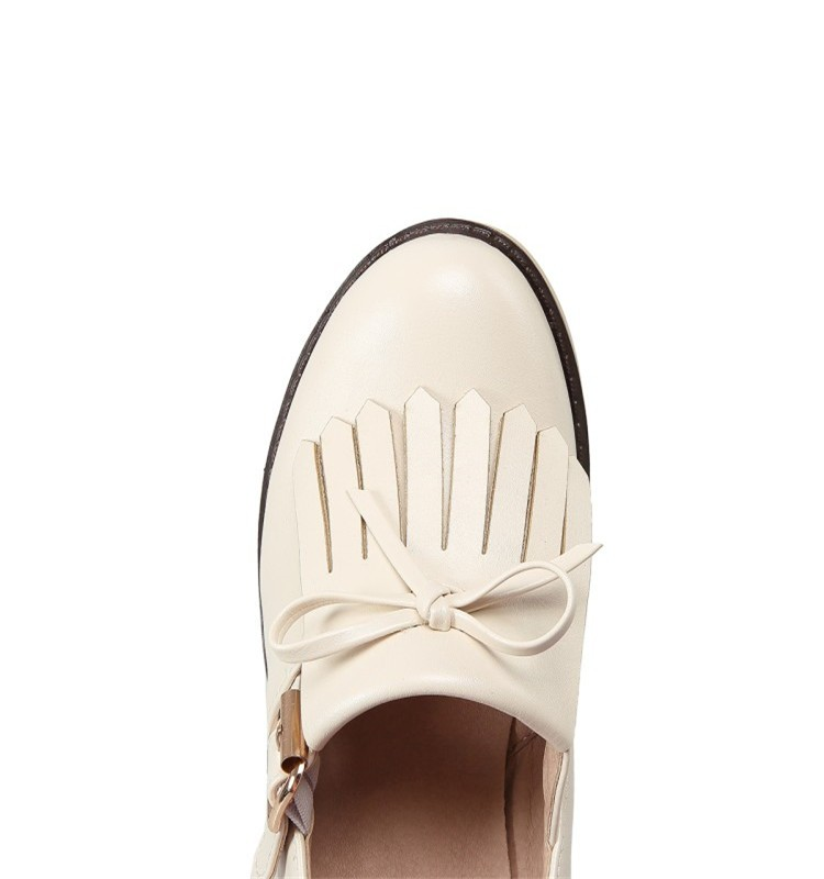 Dames De Mode Chunky Talons Casual Chaussures