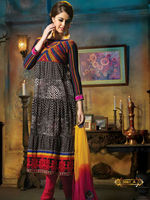 Designer Cotton Salwar Suit Anarkali Style