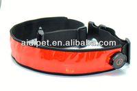 reflective LED flashing boxing belts for sale