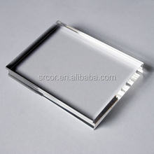upright acrylic plastic picture frame insert