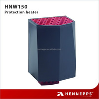 Hennepps high accuracy touch-safe industrial electric heater