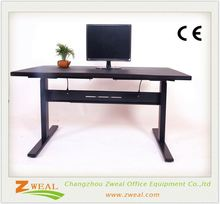 modern mfc office manager desk/executive adjustable height children desk and chair high quality laptop stand