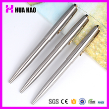 China manufacturer luxurious golden clip metal pens promotional ball pen with logo print metal ball pen for business gift