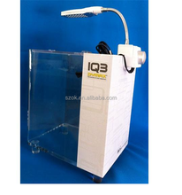 Manufacturer supplies exquisite white acrylic fish tank