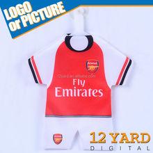 Hot Sale Arsenal Club Mini Style Jersey /Jersey Key Ring /hanging mini kits FC-1006