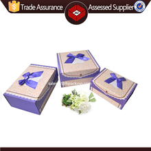 High Quality Custom Made Paper Cardboard Gift Box/Flat Folding Gift Packaging Box For Clothing, Hat, Shoes Packing