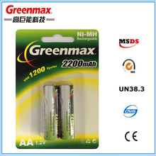 1.2v aa aaa nimh battery with high quality