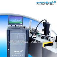 arojet industrial printing machine! self-clean head manual rotating screen printer