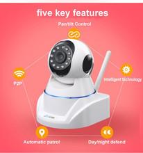 IP CCTV Camera Pan/Tilt WIFI Wireless HD Webcam Alarm Motion Detection 720p Security IP Camera