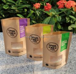Foil Waterproof Stand Up Pet Food Packaging Bag