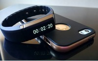 Health tracker bracelet Bluetooth smart bracelet/watch for android phones and iphones