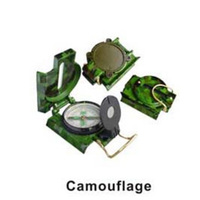 YUETOR Brand Aluminium military survival compass with 1:25000m map scale