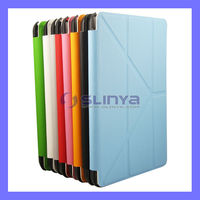 PU Leather Stand Cases Shockproof Case Cover For iPad Mini 2 3