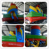 Spiral themed giant inflatable slide for sale