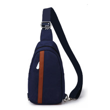 2015 Fashion Men Nylon Chest Diagonal Package Messenger Waterproof Sport Casual Running Outdoor Shoulder bag