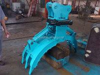 hydraulic Excavator Kobelco SK60/SK70/SK50 grapple/ timber logs