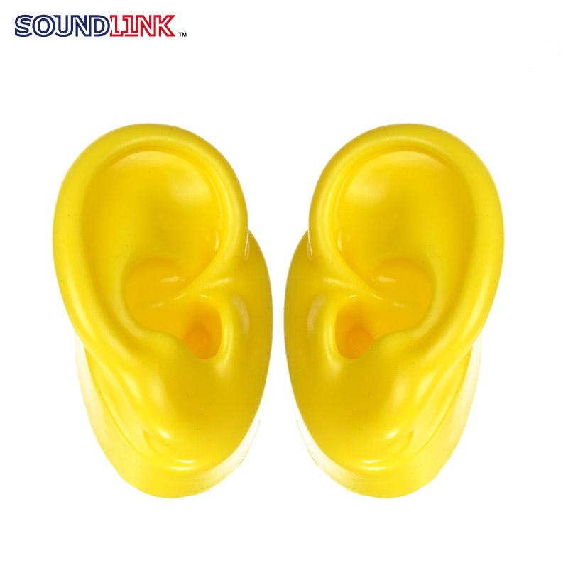 yellow silicon ear model