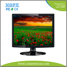 "17 inch lcd monitor for desktop with VGA, 17"" tft lcd tv monitor"