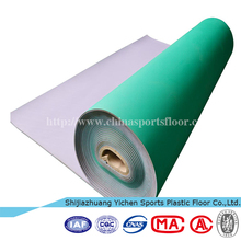 China Quality Big Supplier PVC sports flooring used basketball