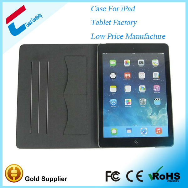 Alibaba china leather case for ipad air,case for ipad