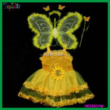 Children Angel Fairy Butterfly Wing Dress For Party