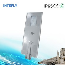 2015 all in one ip66 integrated solar led street light with fixture