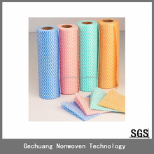 High Performance spunlace nonwoven disposable wet wiping cloth