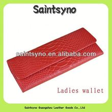 13059 Ladies party clutch purse in crocodile skin