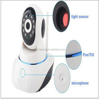 Mini baby and elderly care Home 720P Network Wireless IP Cameras