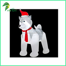 Larger Festival Decoration Design Inflatable Christmas Lovely Dog