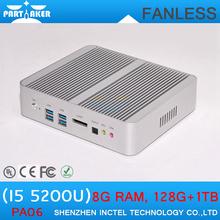 Latest horizontal mini pc case with 5th generation processor I5 5200u