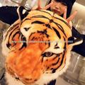 tigre cabeza mochila