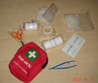 Mini travel medical first aid kit