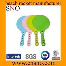 plastic beach racket/beach racket set/beach ball racket