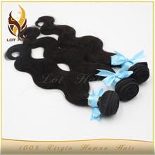 100% Human hair top grade malaysian hair wet and wavy