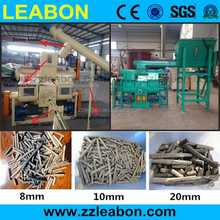 Mechanical Stamping sugarcane bagasse briquettes making machine