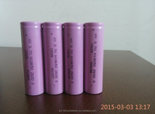 2600mAh lithium li ion battery rechargeable cell 18650 for Charge Pal/portable power supply/source