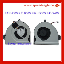 Original brand new for asus K53S X43S notebook cpu heatsink fan
