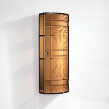 2015 new products hot sale decorative wardrobe sliding door fittings